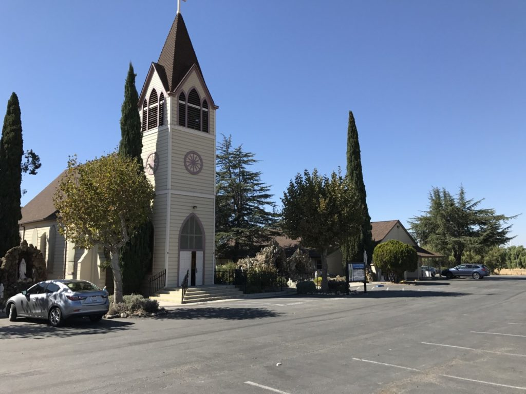 Immaculate Conception Church in Tres Pinos