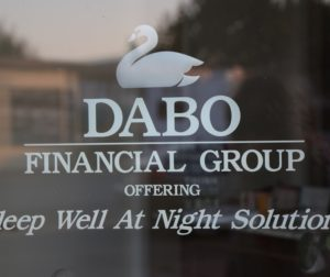 According to online descriptions, Dabo's financial services are geared to older, retired clients and those near retirement.