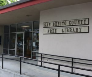 File photo of the San Benito County Free Library.