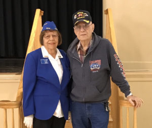 Korean War veterans, Dolly DeVasier and Retired Lt. Colonel Richard Castro