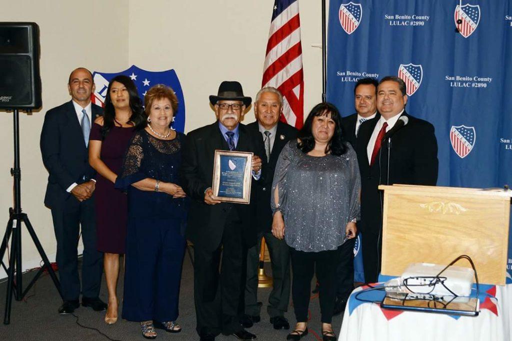 Congressman Panetta, Veronica Lezama, Mickie Luna, Cesar Flores, Vince Luna, Ruth Hermosillo, David Hernandez and Roger Rocha