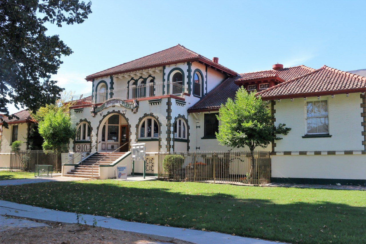 Our Father's House is located in the back of the building at 910 Monterey Street.