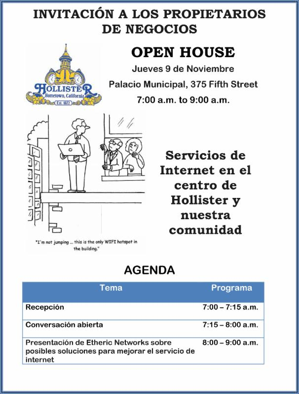 Invitation City of Hollister Open House SP 11 9 2017.png