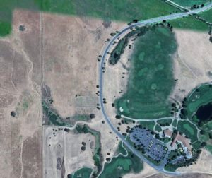 If the new Century Communities development moves forward, an 1,100-home senior development will rise up near San Juan Oaks. Photo courtesy of Google Earth.