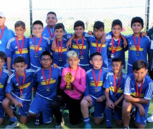 Hollister Tremors U13 Competitive Team. Photo by Joe Fernandez