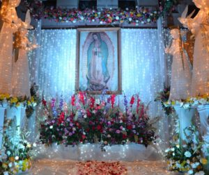 Our Lady Of Guadalupe. Photos by Laura Romero