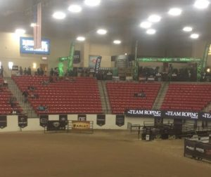 World Series of Team Roping Finale is held at SouthPoint Hotel and Casino. in Las Vegas, Nevada