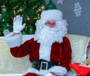 Santa at the Library Photo courtesy San Benito County Free Library