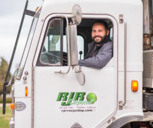 RJR Recycling owner, Robert Rodriguez II. Photo by Lisa Robinson
