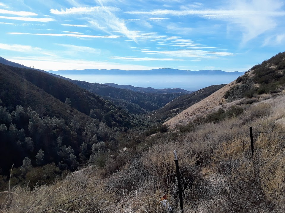 View from La Gloria Road toward Gonzalez and Soledad. Photo by Jim Ostdick.