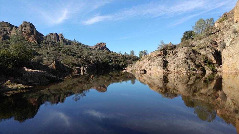 View of Bear Gulch Reservoir