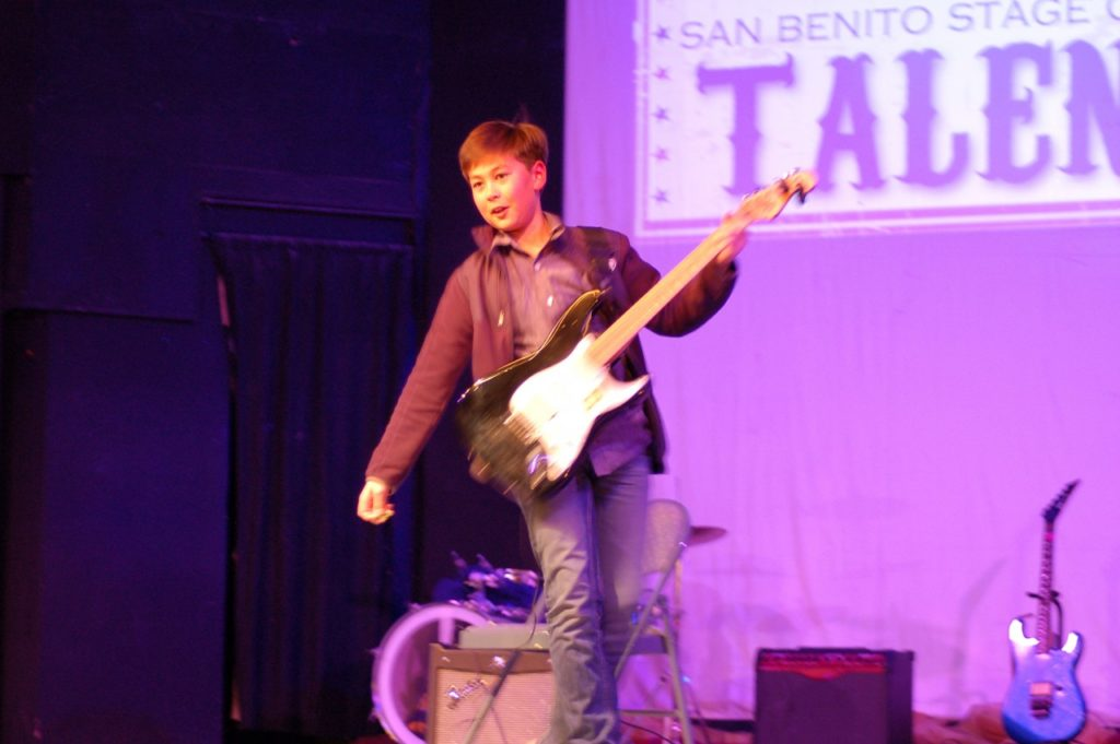 Second place winner, Shane Wilbur. Photo courtesy San Benito Stage Company.