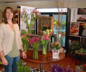 Floral shop in San Juan Bautista