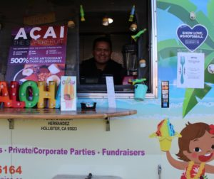 Local business owner Peter Hernandez of Ohana Shave Ice