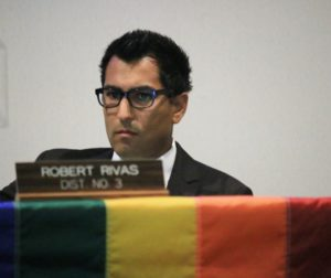 County Supervisor Robert Rivas is a strong supporter of LGBTQ rights