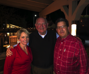 Mary and Mike Howard, owners of The Inn at Tres Pinos pose with U.S. Secreatary of Agriculture Sonny Purdue