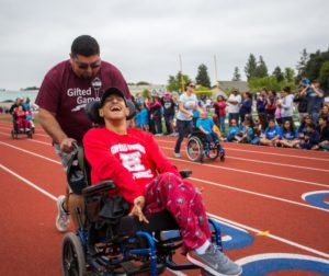 The Gifted Games has expanded from a campus event to a regional one, now open to all children and teens with disabilities in San Benito County and the Gilroy School District.