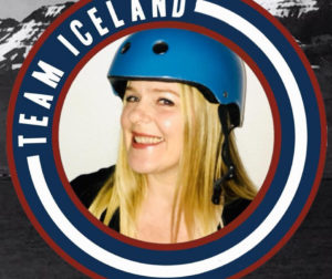 "Berglind ""Ice"" Burrows in her Team Iceland photo"