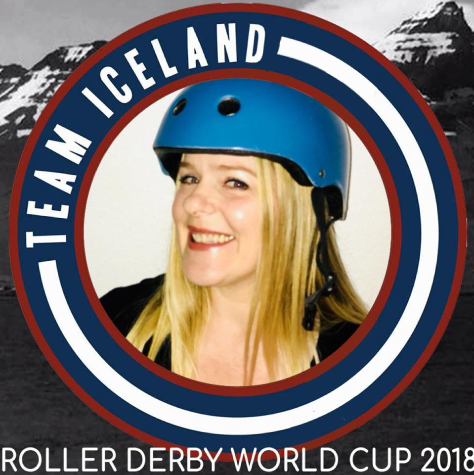 """Berglind """"Ice"""" Burrows in her Team Iceland photo"""
