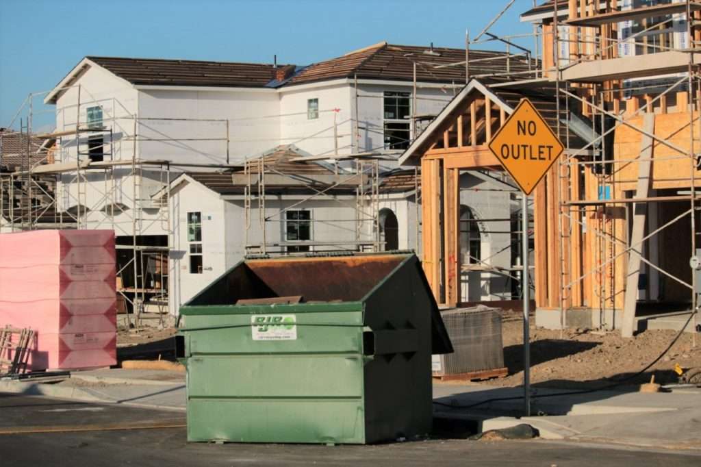 New housing units are still within the growth rate under the city's growth management plan. Photos by John Chadwell.