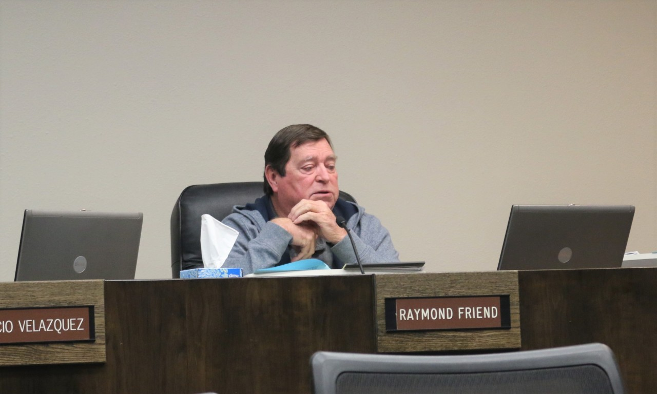 Councilman Ray Friend, a long-time supporter of the rally, had the resolution put on the agenda, and then voted against it. Photo by John Chadwell