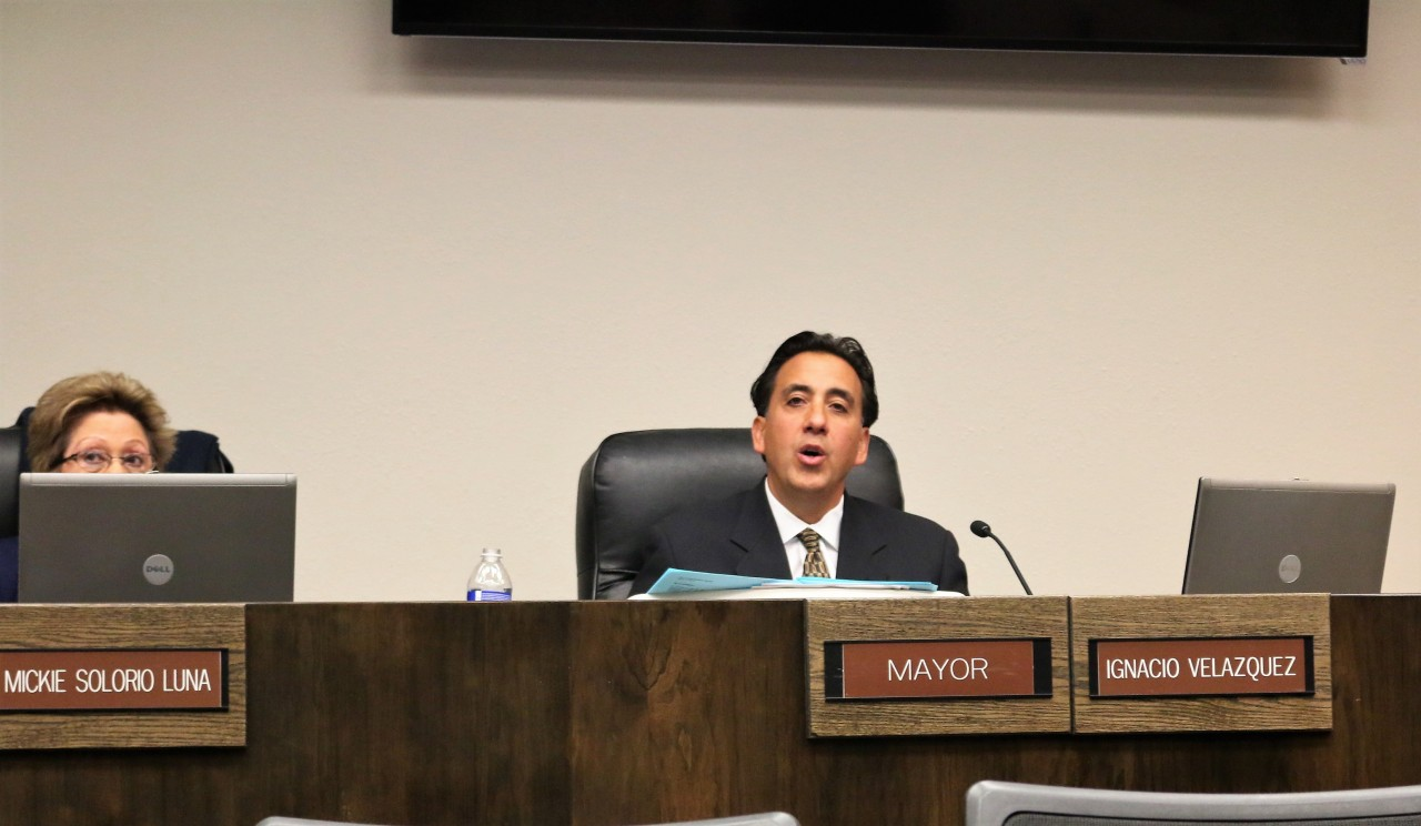Mayor Ignacio Velazquez said if the rally were cancelled it would never come back. Photo by John Chadwell
