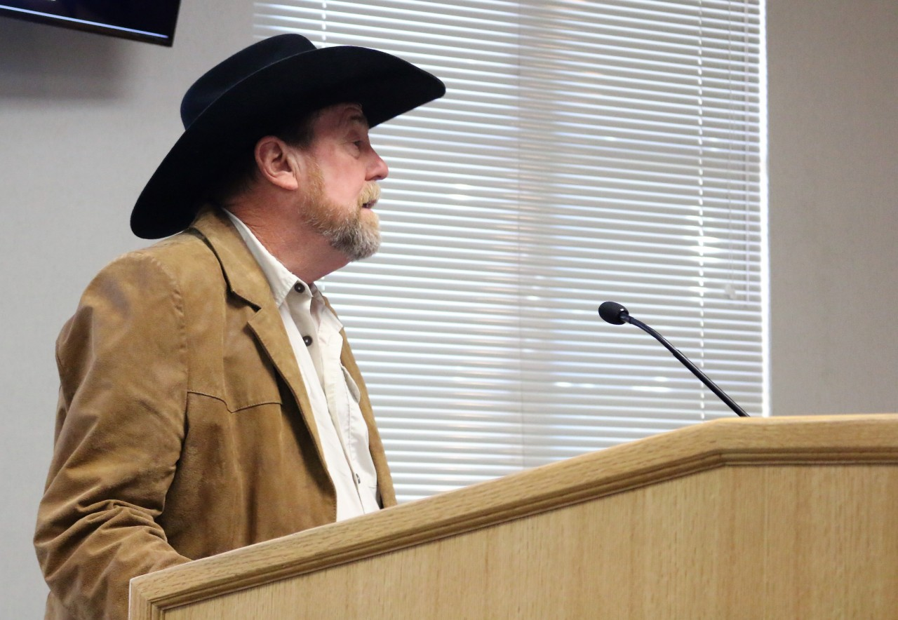 Lee Scazighini said cannabis could make his ranch profitable.