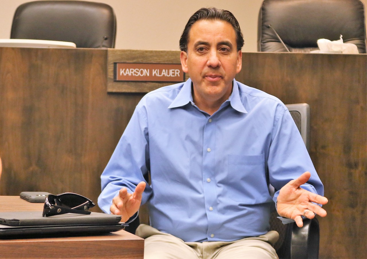 Mayor Ignacio Velazquez does not believe the city would be at risk if an officer were injured.
