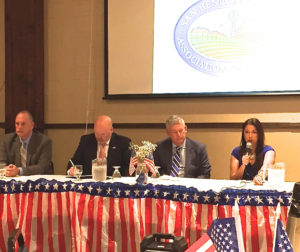 Candidates for San Benito County Supervisor District 4.  Photo by Nicholas Preciado