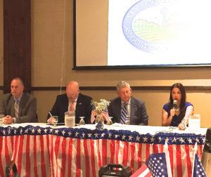Candidates for San Benito County Supervisor District 4.  Photo by Nicholas Preciado