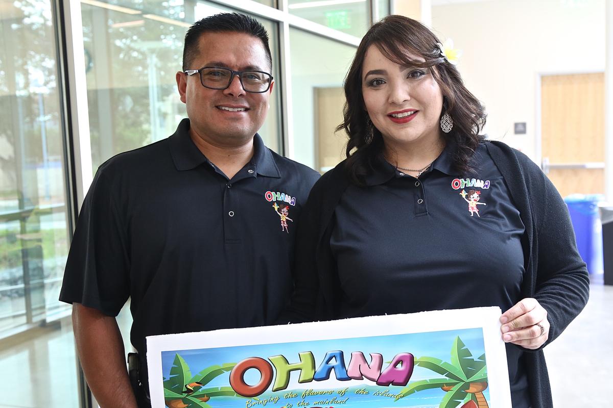 Peter and Karina Hernandez of Ohana Shave Ice.
