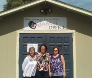 House of Suenos was started as a pilot program in 2014 by Suenia Romero (featured center). Romero is joined by Development Director Mary Lou Mazzone (featured left) and Financial Book Keeper Donna Kinsley (featured right).
