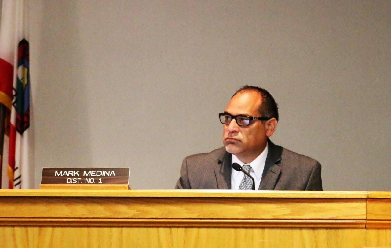 Supervisor Mark Medina said he was disheartened the Hollister School District would not negotiate.