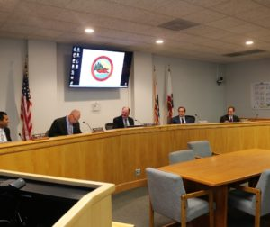 Board of Supervisors voted unanimously to move forward with outside consultant to come up with fees. Photos by John Chadwell.