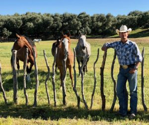 Chuck Morris, owner of Rockin M Rodeo. Photo courtesy Chuck Morris.