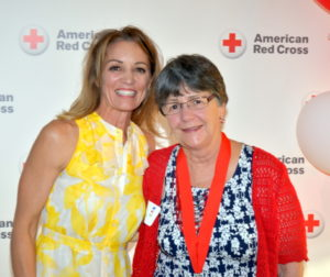 Photo of Michele Averill, left, CEO of the Central CoastPhoto of Michele Averill, left, CEO of the Central Coast Chapter, and Janet Packer, recipient of the Clara Barton Award. Photo by Jim Hobbs Chapter, and Janet Packer, recipient of the Clara Barton Award.