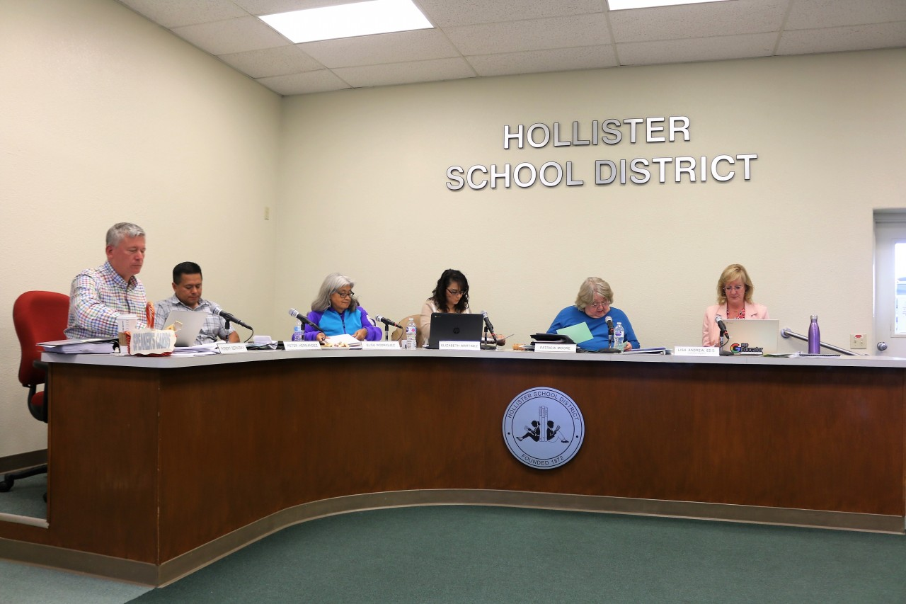 Rob Bernosky said the district school board needs to find a replacement for Andrew as soon as possible so as not to lose momentum on legal case against the county.