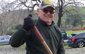 Author and human powered traveler, Jim Ostdick. Photo courtesy Jim Ostdick.