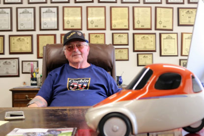Mike Corbin is hopeful there will be a sanctioned 2019 rally, but in any case, will still have his own event. Photos by John Chadwell.