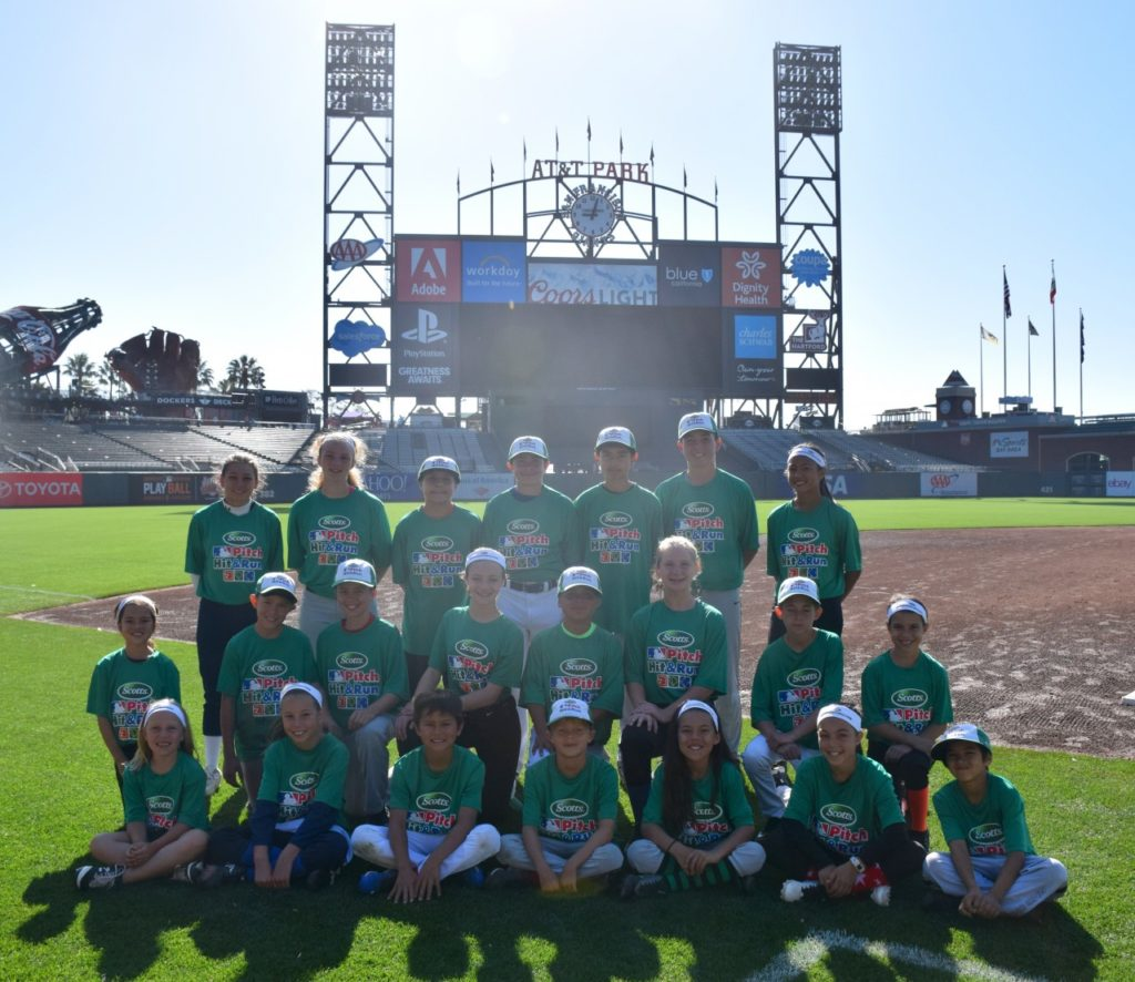 AT&T Park competitors. Photo provided by Kimberly Borg.