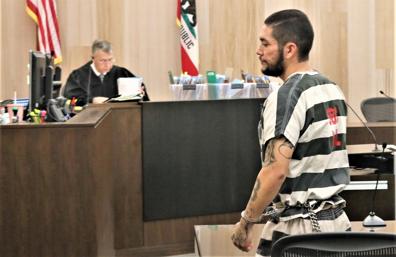 Barajas is being held without bail at the county jail. Photo by John Chadwell.