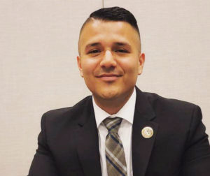 Andres Rodriguez at the LULAC National Convention in Phoenix, AZ 2018. Photo provided by LULAC.