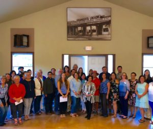 Group photo of non-profits awarded. Photo by Laura Romero