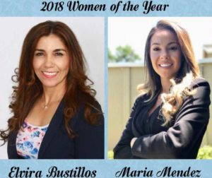 Elvira Bustillos (left) and Maria Mendez, the 2018 Women of the Year reception honorees. Photo provided by LULAC.