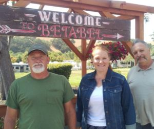 Betabel's staff (left to right) includes Dave Owens, Rachel LaBas and Frank Paura. Photo by Becky Bonner.