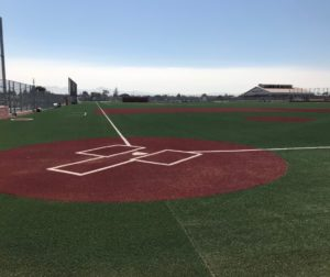 The new multi-use field on campus will allow physical education classes and athletic teams to have year-round access to a safe, modern playing surface. Photo provided.