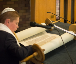 Recent Bar Mitzvah Noah Telford will be participating in High Holliday services. Photo provided by Temple Beth El.