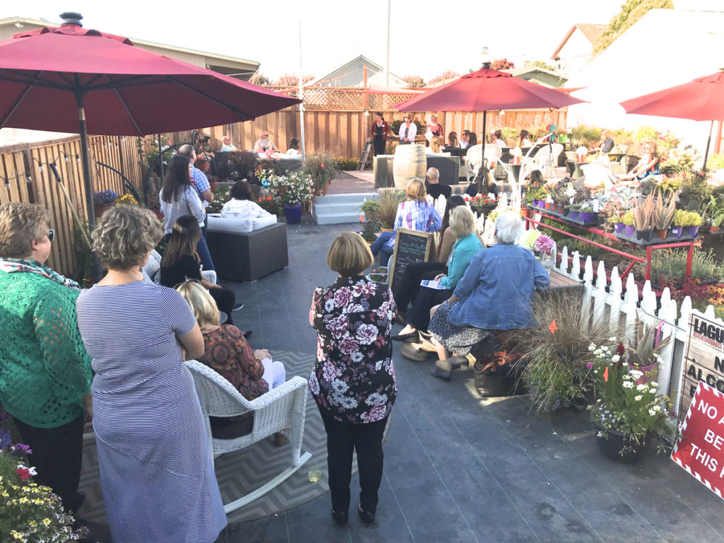 Local nonprofits gather to listen and learn about projects in the county at United Way event at Garden Shoppe in Hollister.