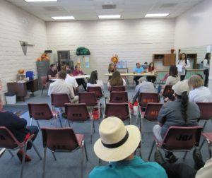 Public forum at the Sept. 15 LULAC Health Fair. Photo by Noe Magaña.