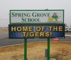 Photo courtesy Spring Grove School.